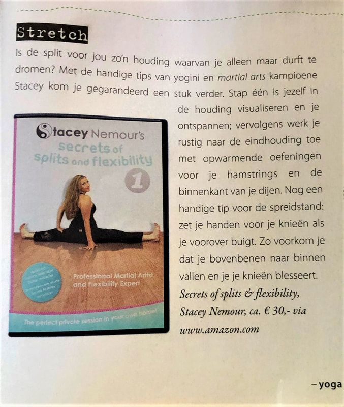 Secrets Of Splits & Flexibility Dutch Yoga Magazine