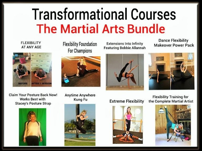 Online Flexibility Courses For Martial Artists